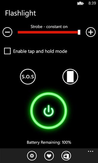 دانلود برنامه چراغ قوه ویندوز فون