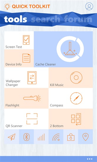 دانلود نرم افزار جعبه ابزار Quick Toolkit ویندوز فون