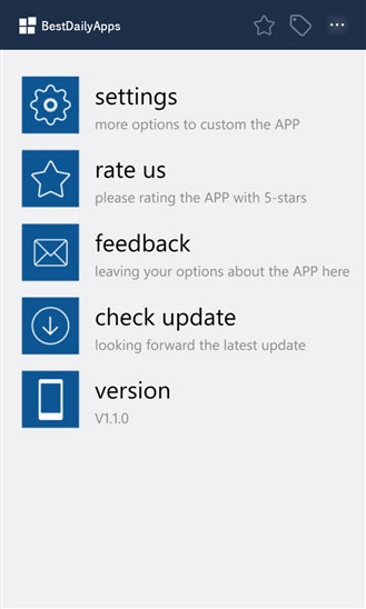 دانلود برنامه BestDailyApps برای ویندوز فون