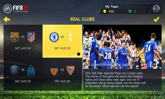 دانلود بازی FIFA15 برای ویندوز فون