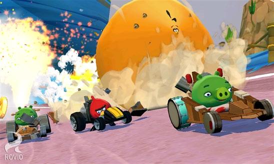 بازی جذاب Angry Birds Go برای ویندوز فون