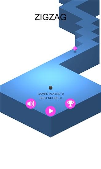 بازی جذاب zig zag برای ویندوز فون