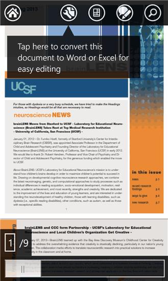 دانلود نرم افزار Adobe Reader خواندن فایل های pdf در ویندوز فون