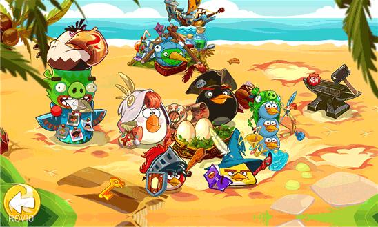 بازی جذاب انگری برد Angry Birds Epic برای ویندوز فون