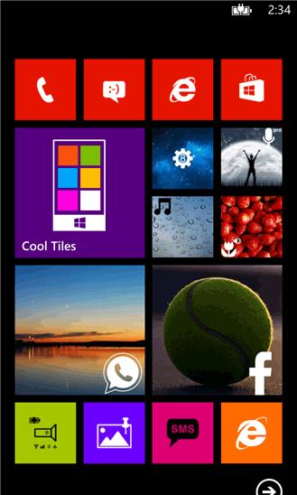 با نرم افزار Cool Tiles ویندوز فون ظاهر گوشی خود را متحول کنید