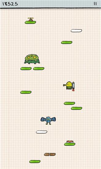 بازی جذاب و بسیار زیبای Doodle Jump برای ویندوز فون