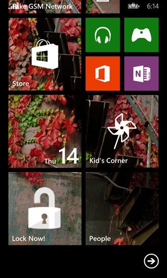 قفل صفحه نمایش ویندوز فون با نرم افزار OneTouch Lock Screen کرک شده