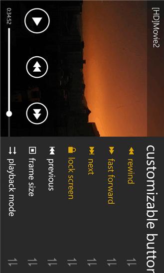 دانلود بخش کننده فیلم MoliPlayer Pro v1.3.2.17 ویندوز فون (کرک شده)