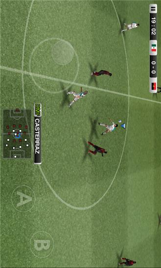 دانلود بازی فوتبال کراک شده PES 2012 v1.1.0.0 برای ویندوز فون