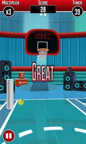 دانلود بازی Basket Ball Pro 3D برای ویندوز فون
