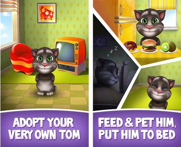 آپدیت جدید بازی My Talking Tom برای ویندوز فون
