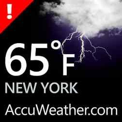 دانلود برنامه هواشناسی قدرتمند AccuWeather برای ویندوز فون