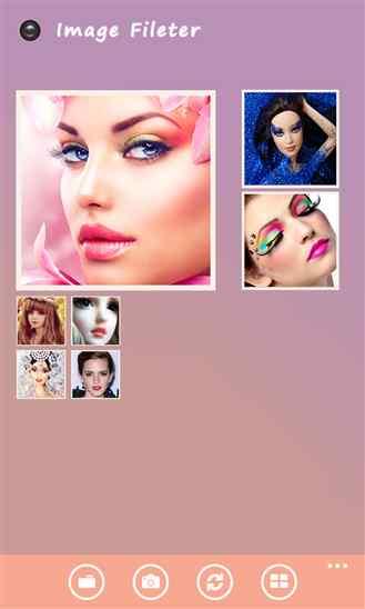 جلوه دادن عکس با نرم افزار ویندوز فون Photo Beauty
