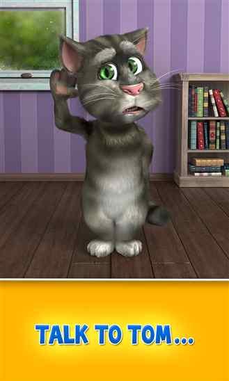 نسخه جدید بازی گربه سخنگو  Talking Tom Cat 2 برای ویندوز فون