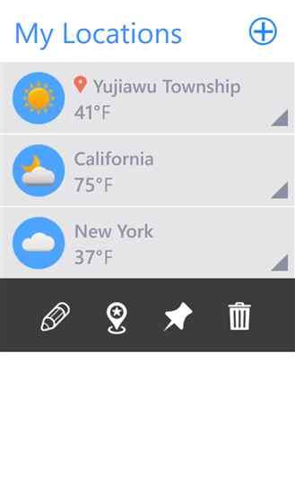 دانلود برنامه هواشناسی Weather Pro برای ویندوز فون