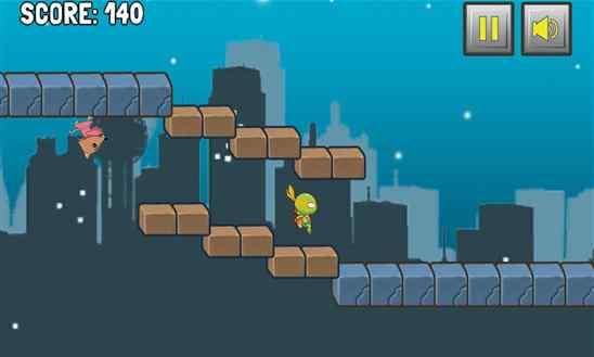 دانلود بازی Ninja Gravity Turtle Runner برای ویندوز فون