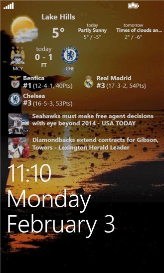 نرم افزار ایجاد صفحه قفل پیشرفته در ویندوز فون Awesome Lock v5.1.0.65