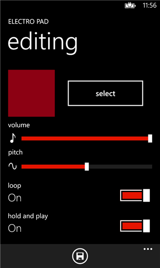 نواختن موسیقی الکترونیک در ویندوز فون با نرم افزار Electro Pad