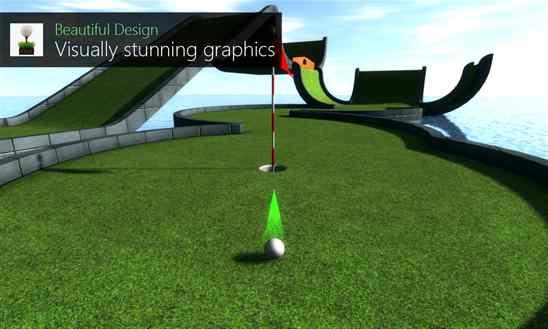 دانلود بازی زیبای گلف Mini Golf Club برای ویندوز فون