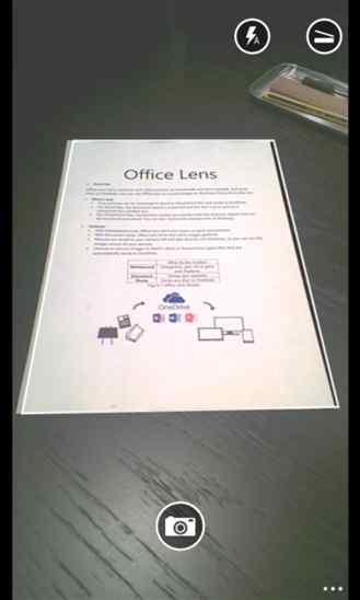 دانلود برنامه مشهور Office Lens برای ویندوز فون