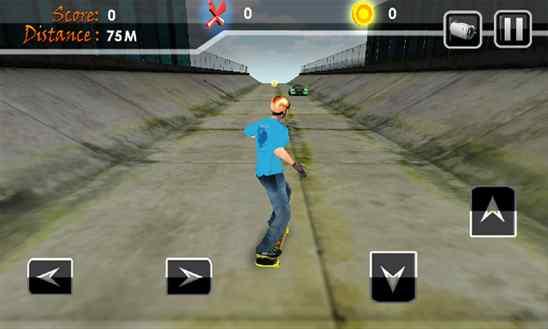دانلود بازی زیبای Street Skater 3D برای ویندوز فون