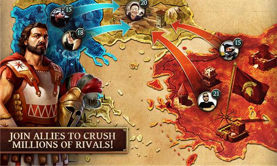 دانلود بازی استراتژیک و محبوب Age of Sparta ویندوز فون