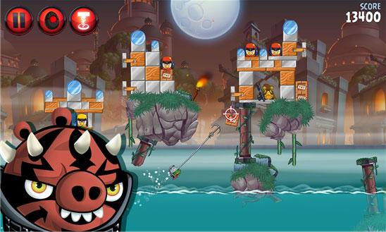 دانلود بازی پرندگان خشمگین Angry Birds Star Wars ویندوز فون