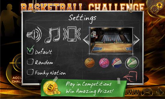 بازی بسکتبال Basketball Challenge برای ویندوز فون