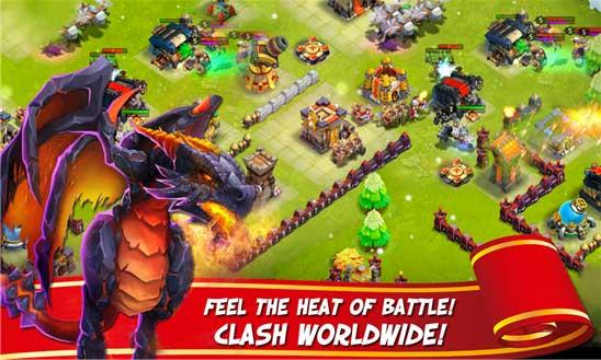 دانلود بازی استراتژیک زیبای Castle Clash ویندوز فون