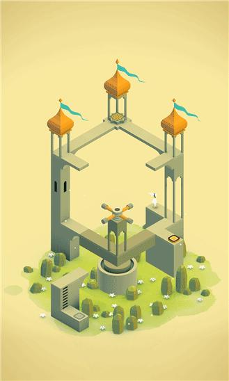 دانلود بازی فکری بی نظیر Monument Valley برای ویندوز فون