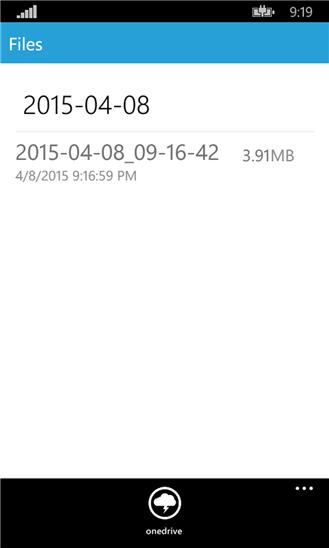 ضبط صدا در ویندوز فون با نرم افزار Phone recording