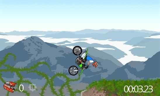 دانلود بازی هیجان انگیز Moto Hill Extreme برای ویندوز فون