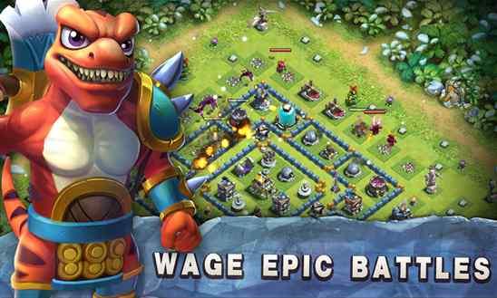 دانلود بازی Raid of Dino شبیه clash of clans برای ویندوز فون