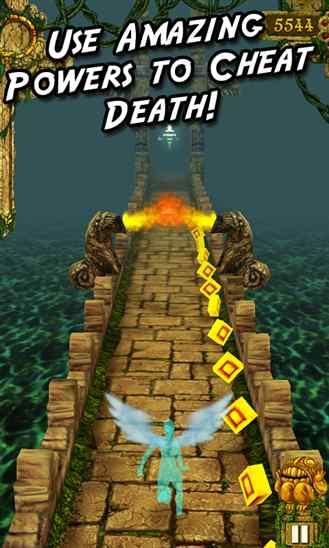 بازی مشهور فرار از مبعد Temple Run برای ویندوز فون