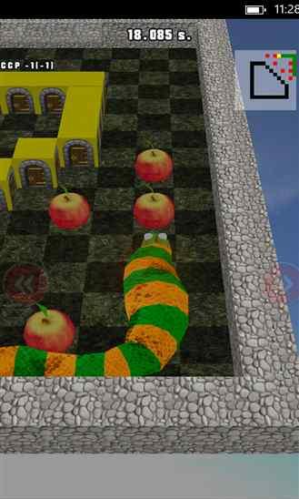 دانلود بازی هیجان انگیز ۳D Snake برای ویندوز فون