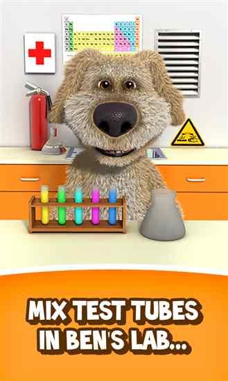 دانلود برنامه Talking Ben the Dog سگ سخنگو برای ویندوز فون