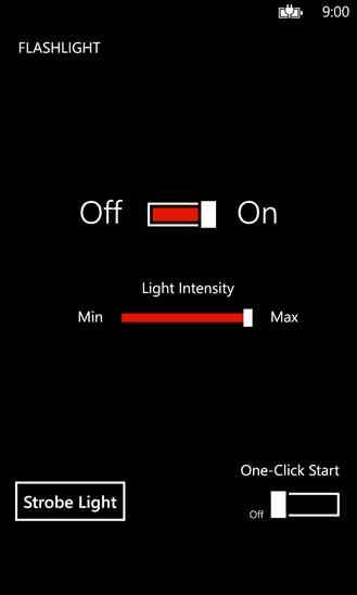 دانلود برنامه چراغ قوه Flashlight برای ویندوز فون