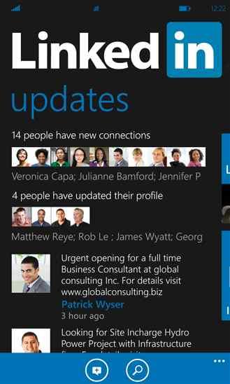 دانلود برنامه شبکه اجتماعی LinkedIn برای مشاغل