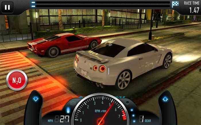 دانلود بازی مشهور CSR Racing برای ویندوز فون