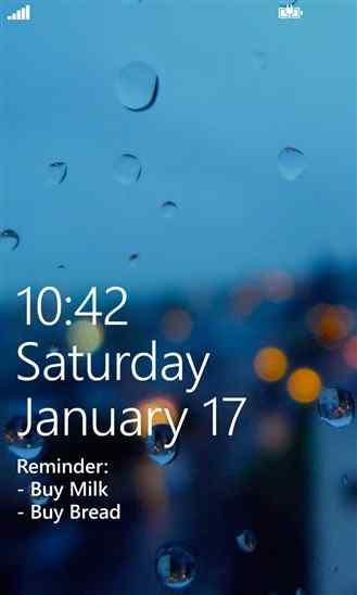 متن خود را با نرم افزار Lock Screen Banner در لاک اسکرین بنویسید
