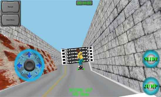 دانلود بازی زیبای Summer Freebord برای ویندوز فون