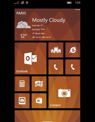 نرم افزار مشهور آب و هوای ویندوز فون ۴castr