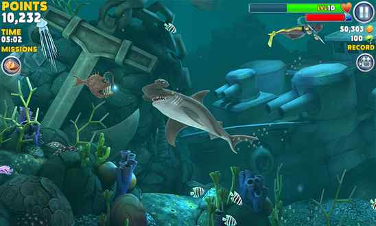 دانلود بازی زیبای Hungry Shark Evolution برای ویندوز فون
