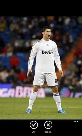 دانلود برنامه Real Madrid Lock Screen برای ویندوز فون