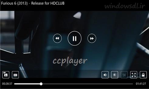 دانلود نرم افزار پلیر قدرتمند CCPlayer برای ویندوز فون