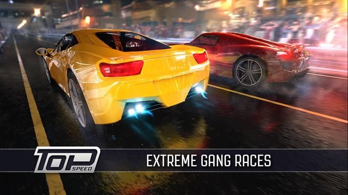 سرعت بالا با بازی ویندوز فون Top Speed: Drag & Fast Racing