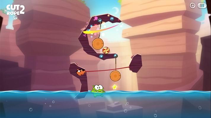 دانلود بازی زیبای Cut the Rope 2 برای ویندوز فون