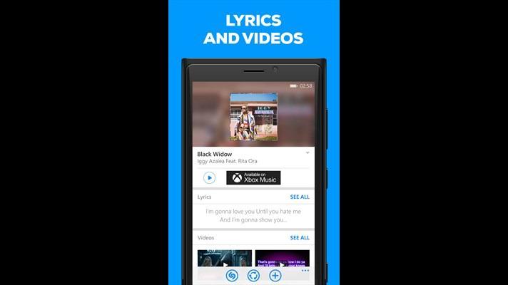 شناسایی اطلاعات موسیقی با برنامه Shazam ویندوز فون