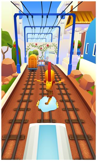 آپدیت جدید بازی مشهور Subway Surfers ویندوز فون