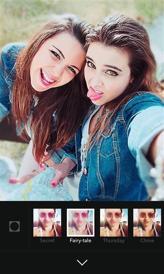 با اپلیکیشن ویندوز فون B612 عکس سلفی بگیرید!